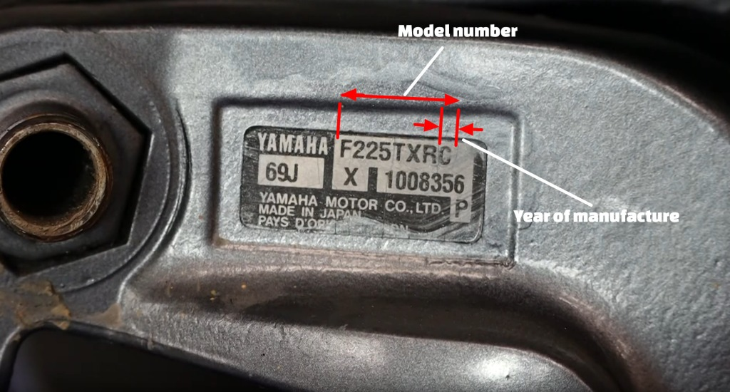 No Panic Mechanic, Mobile Marine Service, Victoria BC, Serial Number